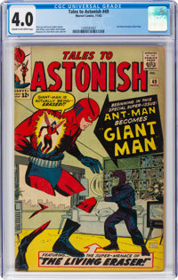 Tales to Astonish #49 (Marvel, 1963) CGC VG 4.0 Cream to off-white pages