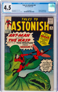 Tales to Astonish #44 (Marvel, 1963) CGC VG+ 4.5 Off-white pages