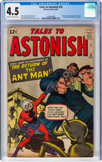 Tales to Astonish #35 (Marvel, 1962) CGC VG+ 4.5 Cream to off-white pages