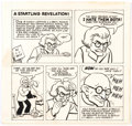"Original Comic Art:Complete Story, C.C. Beck The Collector #29 ""Captain Marvel/Shazam"" Parody Complete 1-Page Story Original Art (Bill G...."