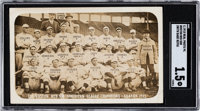 1915 Boston Red Sox Real Photo Postcard SGC Fair 1.5 with Rookie Babe Ruth