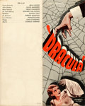 """Movie Posters:Horror, Dracula (Universal, 1931). Very Fine+. Herald (Closed: 2.75"""" X 7"""", Open: 5.5"""" X 7"""").. ..."""