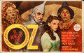 Movie Posters:Fantasy, The Wizard of Oz (MGM, 1945). Very Fine-. First Re...