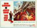 Movie Posters:James Bond, You Only Live Twice (United Artists, 1967). Rolled, Very F...