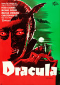 Movie Posters:Horror, Horror of Dracula (Universal International, 1958). Rolled,...
