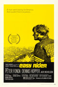 Movie Posters:Drama, Easy Rider (Columbia, 1969). Very Fine+ on Linen. ...