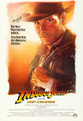 "Movie Posters:Action, Indiana Jones and the Last Crusade (Paramount, 1989). Very Fine Linen. Autographed International One Sheet (27.5"" X 40.25"") ..."