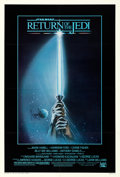 """Movie Posters:Science Fiction, Return of the Jedi (20th Century Fox, 1983). Very Fine- on Linen. Autographed One Sheet (27"""" X 41"""") Style A, Tim Reamer Artw..."""