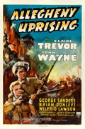 """Movie Posters:Action, Allegheny Uprising (RKO, 1939). Fine/Very Fine on Linen. One Sheet(27"""" X 40.75"""").. ..."""