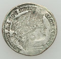Peru: Republic Double Incuse 1/2 Real 1882 M-LM XF
