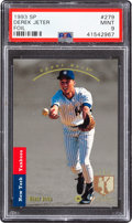 Baseball Cards:Singles (1970-Now), 1993 Upper Deck SP Derek Jeter #279 PSA Mint 9....