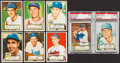 Baseball Cards:Lots, 1952 Topps Baseball Collection (22)....
