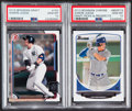 Baseball Cards:Lots, 2013-15 Bowman Aaron Judge PSA Gem Mint 10 Graded Pair (2)....