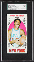 Basketball Cards:Singles (Pre-1970), 1969 Topps Walt Frazier #98 SGC NM 7....