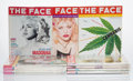 Collectible:Contemporary, The Face . Group of 1990's Magazine, c. 1990. 81 Magazines. 11-3/4 x 9 inches (29.8 x 22.9 cm) (each). Published by The ...