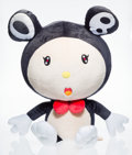 Collectible:Contemporary, Takashi Murakami (Japanese, b. 1962). Mr. DOB XL. Polyester plush and stuffing. 40-1/2 x 23-5/8 x 34-5/8 inches (102.9 x...