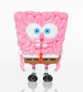 Collectible:Contemporary, Emilio Garcia X JPS. Sponge Brain Resin Figure, 2018. Painted cast resin. 7 x 5-1/2 x 3-1/2 inches (17.8 x 14 x 8.9 cm)...