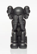Collectible:Contemporary, KAWS (American, b. 1974). Passing Through Companion (Black), 2013. Painted cast vinyl. 11-1/2 x 6-1/2 x 7-1/2 inches (29...