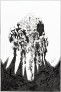 Original Comic Art:Covers, Mark Bagley and Andrew Hennessy Ultimate End #5 Cover Original Art (Marvel, 2016)....