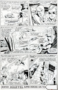 Werner Roth and Dick Ayers X-Men #25 Story Page 2 Original Art (Marvel, 1966)