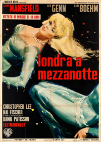 "Playgirl After Dark (Warner Brothers, 1962). Folded, Fine/Very Fine. Italian 4 - Fogli (55"" X 77.75"") Manfredo..."
