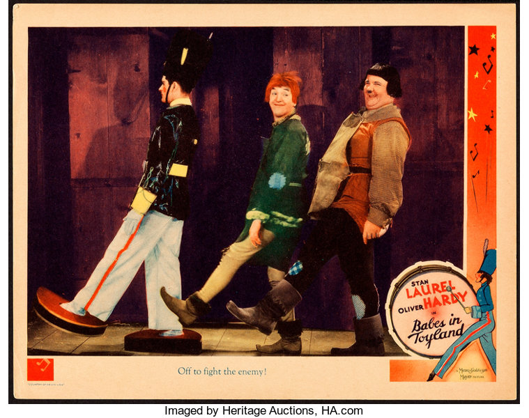 Babes in Toyland Laurel /& Hardy movie poster print