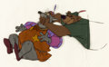 Animation Art:Presentation Cel, Robin Hood Sheriff of Nottingham Hand-Painted ProductionCels (Walt Di...