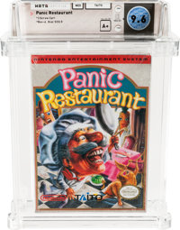 Panic Restaurant (NES, Taito, 1992) Wata 9.6 A+ (Seal Rating)