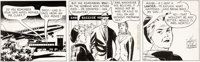 Ken Ernst Mary Worth Daily Comic Strip Original Art dated 5-28-66 (North American Syndicate, 1966)