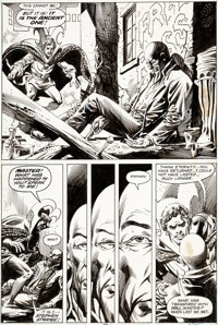 Jim Starlin and Rudy Nebres Doctor Strange #26 Story Page 15 Original Art (Marvel, 1977)