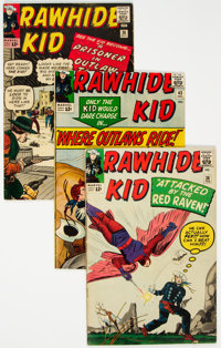 Rawhide Kid Group of 28 (Marvel, 1963-69) Condition: Average FN/VF.... (Total: 28 Comic Books)
