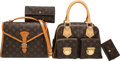Luxury Accessories:Bags, Louis Vuitton Set of Four: Brown Monogram Bags, Wallet & Key Holder. Condition: 3. See Extended Condition Report for S... (Total: 4 )