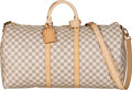 "Luxury Accessories:Bags, Louis Vuitton Damier Azur Coated Canvas Keepall Bandouliere 55 Bag. Condition: 1. 21.5"" Width x 12"" Height x 10"" Depth..."