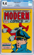 Golden Age (1938-1955):Adventure, Modern Comics #47 Mile High Pedigree (Quality, 1946) CGC NM 9.4 White pages....