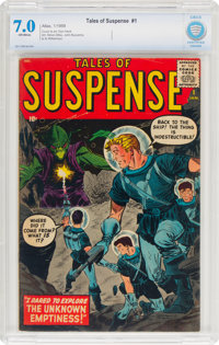 Tales of Suspense #1 (Marvel, 1959) CBCS FN/VF 7.0 Off-white pages