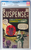 Silver Age (1956-1969):Adventure, Tales of Suspense #33 (Marvel, 1962) CGC VF- 7.5 Off-white pages....