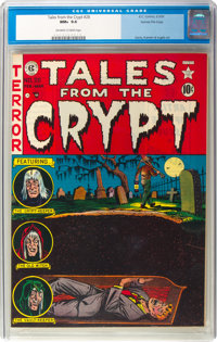 Tales From the Crypt #28 Gaines File Copy 2/12 (EC, 1952) CGC NM+ 9.6 Off-white to white pages