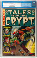 Golden Age (1938-1955):Horror, Tales From the Crypt #38 Gaines File Copy 2/12 (EC, 1953) CGC NM 9.4 Off-white to white pages....