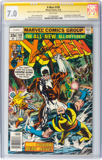 X-Men #109 Signature Series: Stan Lee and Others (Marvel, 1978) CGC FN/VF 7.0 White pages