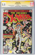 Modern Age (1980-Present):Superhero, X-Men #130 Signature Series (Marvel, 1980) CGC FN- 5.5 White pages....