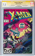 Modern Age (1980-Present):Superhero, X-Men #248 Signature Series: Stan Lee and Others (Marvel, 1989) CGCVF- 7.5 Off-white to white pages....