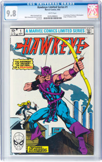 Hawkeye #1 (Marvel, 1983) CGC NM/MT 9.8 White pages