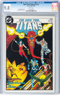 Modern Age (1980-Present):Superhero, New Teen Titans V2#1 (DC, 1984) CGC NM/MT 9.8 White pages....