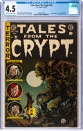 Golden Age (1938-1955):Horror, Tales From the Crypt #46 (EC, 1955) CGC VG+ 4.5 Cream to off-white pages....