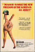 """Movie Posters:Comedy, MASH (20th Century Fox, 1970). Folded, Fine+. One Sheet (27"""" X41""""). Comedy.. ..."""