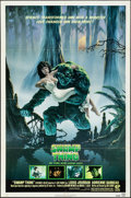 """Movie Posters:Horror, Swamp Thing (Embassy, 1982). Folded, Fine/Very Fine. One Sheet (27""""X 41"""") NSS Style. Richard Hescox Artwork. Horror...."""