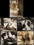 """Movie Posters:Musical, Montana Moon (MGM, 1930). Very Fine-. Photos (5) (Approx. 8"""" X10""""). Musical.. ... (Total: 5 Items)"""