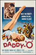 "Movie Posters:Exploitation, Daddy-""O"" (American International, 1959). Folded, Fine/Ver..."