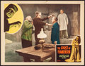 "Movie Posters:Horror, The Ghost of Frankenstein (Realart, R-1948). Very Fine-. Lobby Card (11"" X 14""). Horror.. ..."