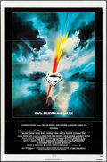 "Movie Posters:Action, Superman the Movie (Warner Brothers, 1978). Folded, Very Fine/NearMint. One Sheet (27"" X 41""), Lobby Cards (2), & De..."